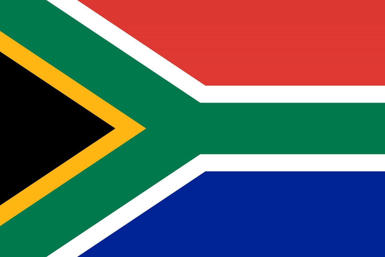 bandera de sudafrica