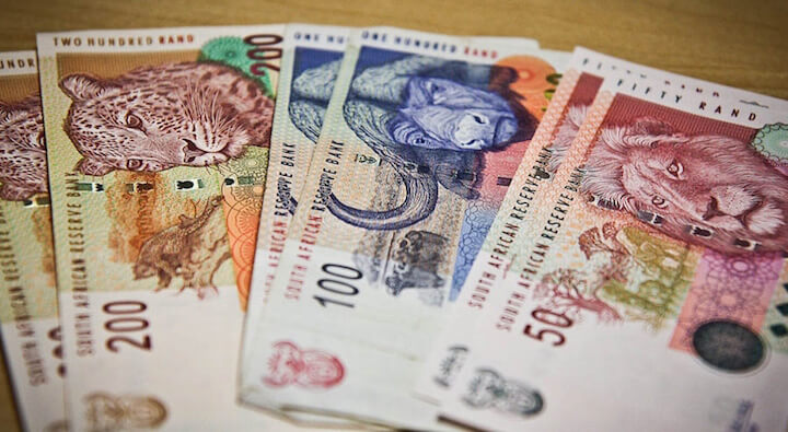 Moneda de Sudáfrica